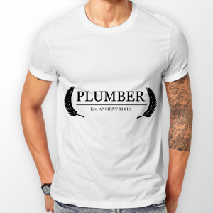 ASAP Plumber Est Ancient Times Wht Tee